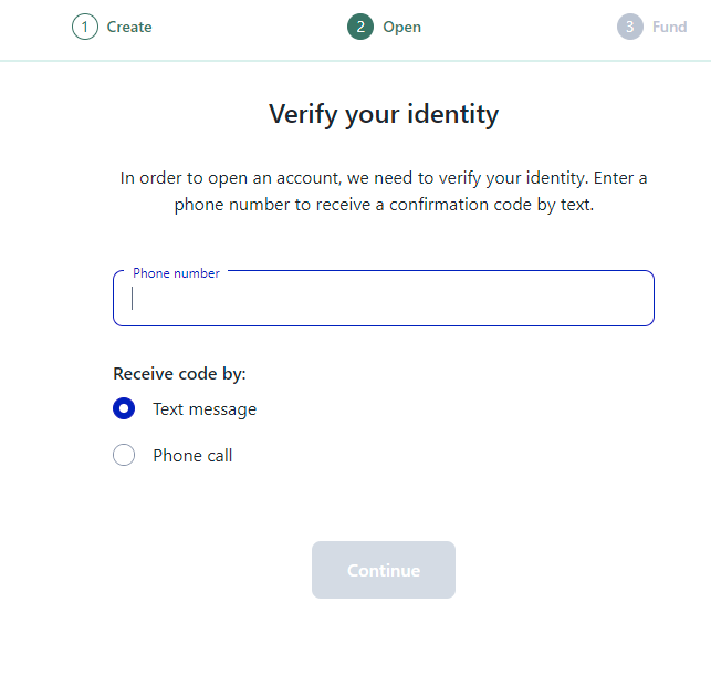 M1 Finance - Verify Identity