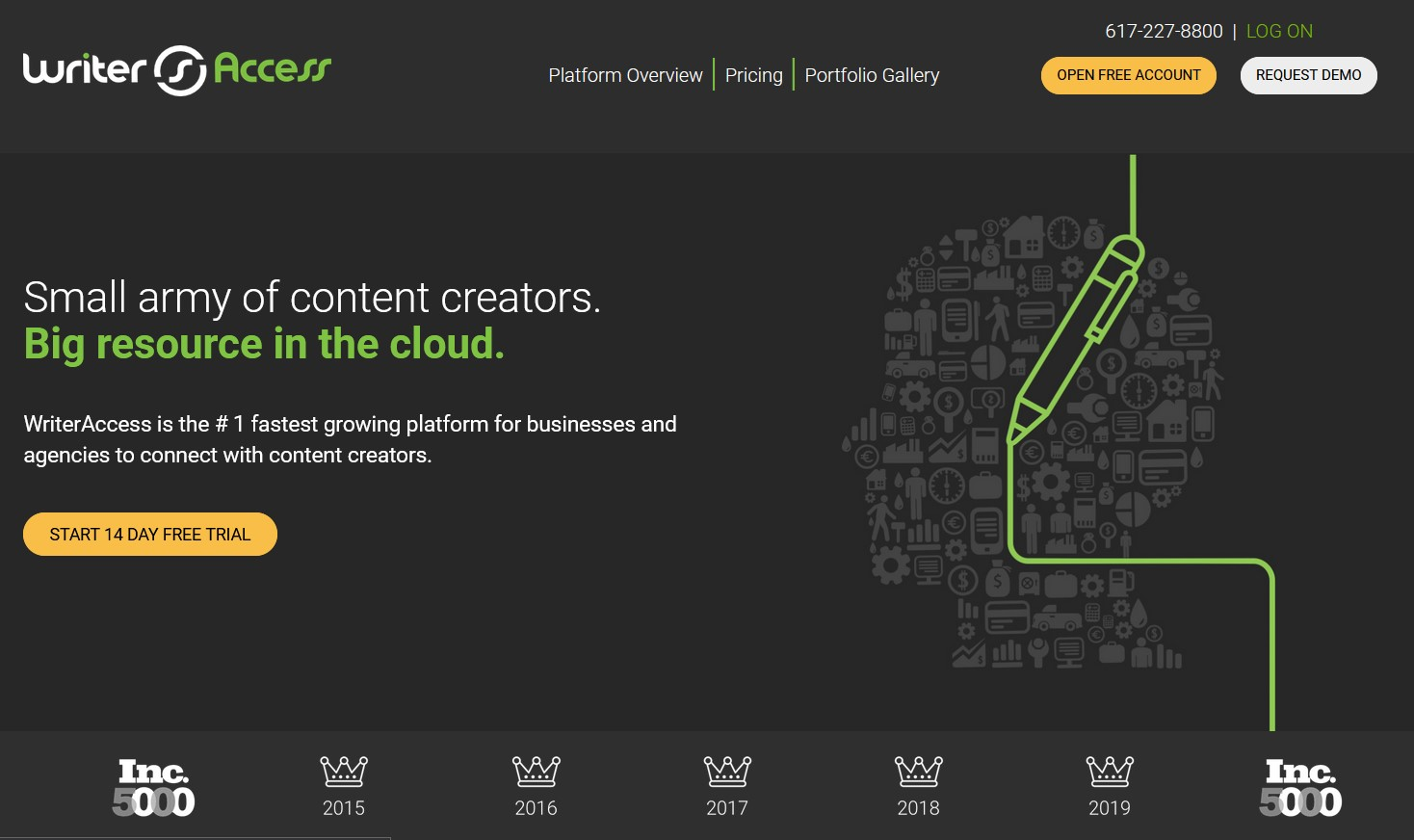 WriterAccess Website